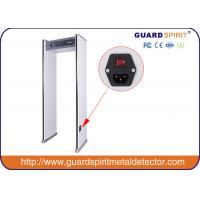 High Sensitivity Walk Through Metal Detector Gate Frame With LED Light