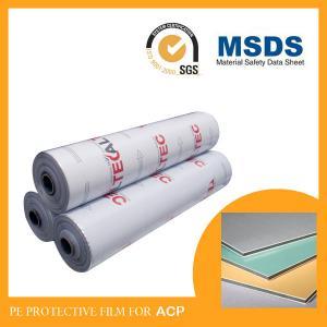 Cheap Removable Black & White Paint Guard Film , Plastic Film Protection For Cars wholesale