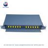 Buy cheap Empty Box 12 Port Fc St Fiber Optic Patch Panel Rack Mount from wholesalers