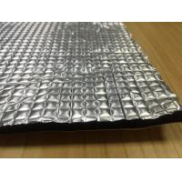 China 6mm Aluminum Foil Rubber Foam High Heat Insulation For Automotive Hood Liner on sale