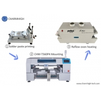 Buy cheap High Precision SMT Production Line T961 Reflow Oven 60 Feeders Pick And Place from wholesalers