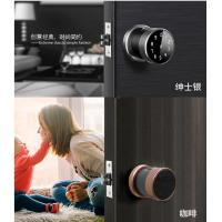 Cheap Zink Alloy Nice Appearance Smart Door Lock Fingerprint Semiconductor Sensor wholesale