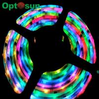 Cheap 120 5 Volt 2812B Magic SMD 5050 Led Strip Light 14.4 Watt IP20 wholesale