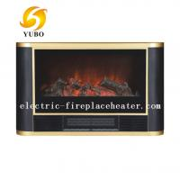Cheap Luxury Black Duraflame Chimney Free Indoor Electric Fireplace For Living Room wholesale
