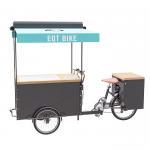 Cheap Three Wheel Ice Cream Scooter , Ice Cream Cart Bike Convenient Operating wholesale