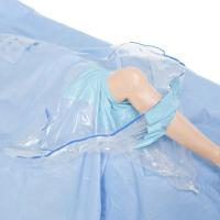 Buy cheap Eo sterile Knee Drape with Collection Pouch with FDA Approved from wholesalers