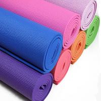 Cheap Recycled Polyurethane Traveling Durable Yoga Mat , Heat Insulation Light Weight Foam Yoga Mat for sale
