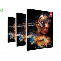 Cheap Professional Adobe 3D Graphic Design Software , Adobe Photoshop CS 6 Extended wholesale