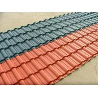 Cheap clear corrugated semi-transparent plastic roof tile for green house wholesale