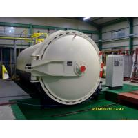 Steam Brick Industrial Autoclave Pressure Φ3m For Glass Deep - Processing