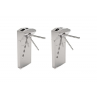 Buy cheap Led Indicator Drop Arm Tripod Turnstile Gate SUS304 from wholesalers