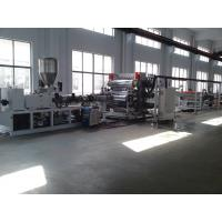 Cheap Newest/Cheapest PP Sheet Extrusion Line/pe plastic sheet/pp stationery sheet extrusion wholesale