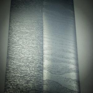 Cheap Waterproof Silver Blue Color Lamination Film Matte Color Raised Texture wholesale