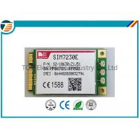 Cheap PCIE Wireless 4G LTE Module From SIMCOM SIM7230E With MDM9225 Chipset 3.3V Small Size wholesale