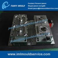 Cheap plastic sweet packaging containers mould, 500ml iml label container mould, iml moulding wholesale