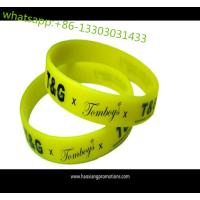 Cheap Artificial Style and Business Gift Use silicone bracelets as customized no MOQ wholesale