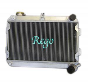 Cheap 3 Row 56mm racing car Aluminum Radiator for MAZDA RX7 S1 / S2 MANUAL wholesale