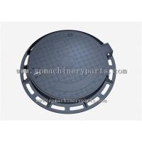 Cheap Security Good Quality Round Shape EN124 D400 Cast Iron Sewer Cover On Road wholesale