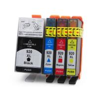 Cheap HP Compatible Printer Ink Cartridges , Cyan / Yellow Ink Print Cartridges wholesale