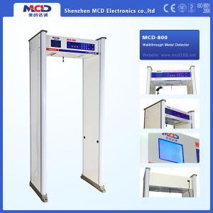 High Sensitive Airport Metal Detector , 8 Zones Archway Metal Detector