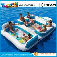 Cheap Waterproof Flame Retardant Inflatable Boat Toys Floating Water Sofa For Adults wholesale