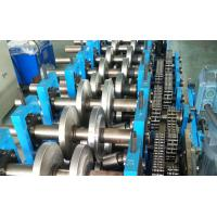 Cheap Manual Steel Profile C Z Purlin Roll Forming Machine 40 Mm-80 Mm Width 17 Stations wholesale