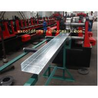 Cheap C / Z Shape Automatic Changable Purlin Roll Forming Machine Hydraulic Punching Hole for European Customer wholesale