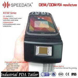 Wifi USB Bluetooth Fingerprint Scanner Reader 5.0 Inch HD IPS LCD