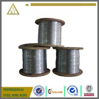 Cheap 7x19 electro galvanized steel wire rope steel cable steel wire wholesale