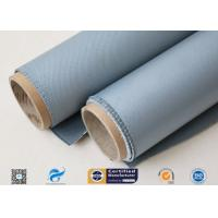 Cheap Thermal Insulation Materials 31OZ 0.85MM Grey Silicone Coated Fiberglass Fabric wholesale