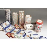 China Pure Aluminum Automatic Packaging Film Roll , Laminated Packaging Film For Food on sale