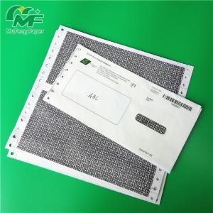 Salary Envelope Type Pin Mailer Paper 100% Wood Pulp Material Black Image