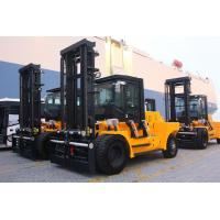 Cheap Variable Speed Control 15 Ton Forklift , Energy Saving Engine Diesel Powered Indoor Outdoor Forklift wholesale