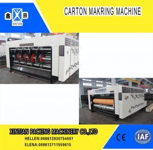 Cheap High Precision Carton Making Machine / Paper Die Cutting Machines , 2800mm Inboard Width wholesale