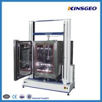Cheap 1000KN Tensile Testing Tester , Double Pole PVC Testing Equipment with Speed 0.1-500mm/min wholesale