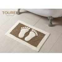 Cheap Bulge Big Feet  Icon Many Hotel Bath Mats Homor Design With Polyester Coral wholesale