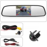 Buy cheap Night Vision Car Backup Camera Mirror 5'' Display Size Color CCD 7070 Image from wholesalers