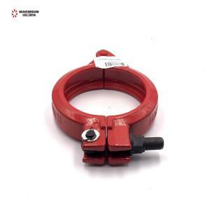 Cheap Steel 11936886 Concrete Pump Pipe Clamp L125ABCW46D.3.1.10 wholesale