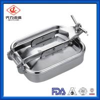Cheap Pressure Circular Sanitary Manway Mirror Finish  With Flange Sight Glass wholesale