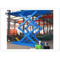 Cheap Double Acting Single Piston Hydraulic Scissor Lift for Engineering Machinery wholesale