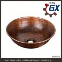 Cheap Handmade Copper Sink to Lavabo in the Kitchen wholesale