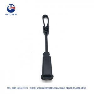Cheap Plastic Drop Fiber 2-8mm Tension Cable Clamp 100kg For 30 Minutes wholesale