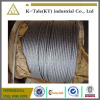 Cheap ungalvanised elevator steel wire rope 8x19S+FC for lifting wholesale