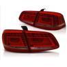 Buy cheap Red Left Led Lights For Cars Volkswagen PASSAT B7L B7 2011 - 2015 from wholesalers