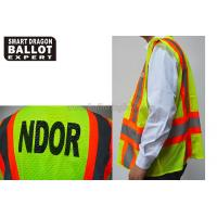 Cheap Green Reflective Vests , High Reflective Safety Jacket For Election Voting Usage wholesale