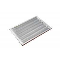 5 Rows 550x400x37mm 1.2mm Baguette Baking Tray