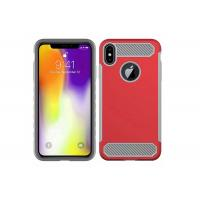 Cheap 2 In 1 PC / TPU Plastic Phone Cases Logo Customized With Full Protection wholesale