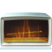 Cheap High Efficiency Bedroom / Living Room Mini Electric Fireplace With LED Light wholesale