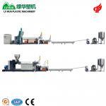 Cheap LDPE HDPE Hard Scrap Plastic Pelletizing Machine 75kw - 22kw High Performance wholesale