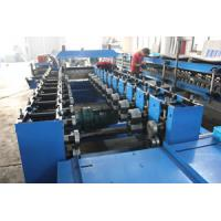 Cheap High Standard Cut To Length Steel Door Frame Roll Forming Machine 8200 * 1450 * 1510mm wholesale